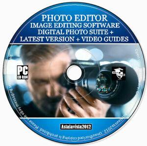 Pro Photo Digital Image Editor Illustrator Painter Photography Software - PC MAC
