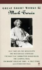 Great Short Works of Mark Twain by Mark Twain, Vintage 1967 Paperback Anthology