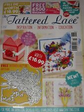 TATTERED LACE MAGAZINE #51 (INCLUDES FREE DIE)  POPPY PLAQUE - CARDS & SCRAPBOOK