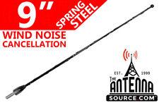 "2000-2015 Nissan Xterra 9/"" Black Spring Stainless AM//FM Antenna Mast Fits"