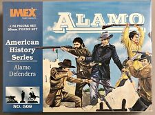 IMEX 509 Alamo Defenders Defender Soldiers Figures Set Modelmaking 1/72 (V-103
