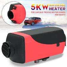 5KW 12V/24V Voiture Diesel Air Parking Chauffage Stationnement 4 Outlet un Trou