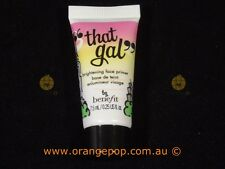 """Benefit Cosmetics """"That Gal"""" Deluxe sample 7.5ml brightening face primer"""