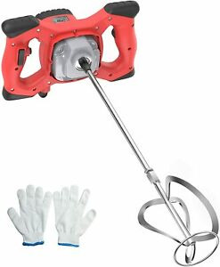 Mörtelrührer 220V,2100W,Rührwerk,Betonmischer,6-Gang 270-930U/min,Handrührgerät