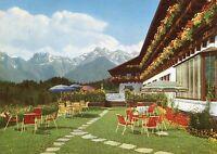 Alte Postkarte - Sonthofen - Kur- und Sporthotel Algäuer Berghof