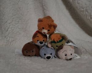 Disney Tsum Tsum Oliver and Company Plush Micro Subscription August Set