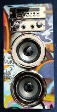 Pure Acoustics Portable Karaoke Machine Bluetooth Mp3 Speaker Mic FM Microphone