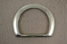 """Dee Ring - 2 1/2"""" - Bell Shape - Beveled - Solid Brass - 1 piece (G50)"""