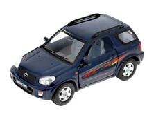 "New 5"" Kinsmart Toyota Rav4 Diecast cAR Model Toy SUV 1:32 Dark Blue"