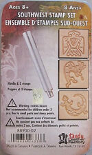 Tandy Leather -  SOUTHWEST 3D STAMP Stamping SET with Handle  -  88900-02