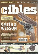 CIBLES N°383 SMITH & WESSON HAND EJECTOR / M9 ET M40 / P.M STAR Z-45 /1911 G-MAN