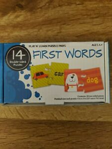 Play N Learn Puzzle Pairs First words
