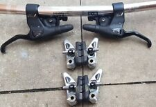 Shimano Deore XT 3x7 21 Speed STI MO92 & M734 cantilever brakes.