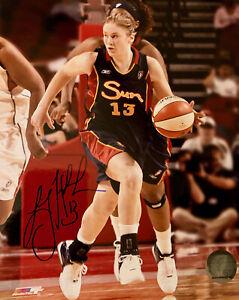 LINDSAY WHALEN signed (Connecticut Sun) WNBA Basketball 8x10 photo #3  W/COA