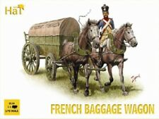 HaT Nap. French Baggage Wagon 1/72 Scale Unpainted Figures 8106