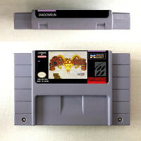 Shadowrun New Game Card Console For Nintendo SNES US Version 16 Bit English