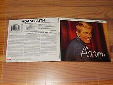 ADAM FAITH - ADAM (MONO, STEREO) / REMASTER DIGIPACK-CD 1997