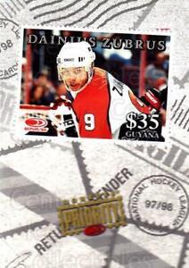 1997-98 Donruss Priority Stamps #34 Dainius Zubrus