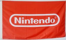 Nintendo Flag Red Banner Video Game Mario Bros Zelda Pokemon Man Cave Game 3x5Ft