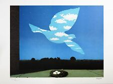 René Magritte - The Return (signed & numbered lithograph)