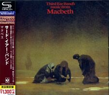 THIRD EAR BAND Macbeth (1972) Japan SHM CD OBI WPCR-16336