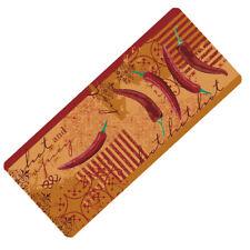 Kitchen Runner Chili 70 7/8in Runner Kitchen Rug Bridge Carpet Doormat Washable