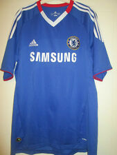 Chelsea 2010-2011 Home Football Shirt Size Large jersey /35046