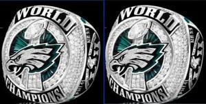 NEW 2017 2018 Philadelphia Eagles World Championship Ring WENTZ , FOLES !