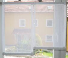 Scheibengardinen 2 x Breite 39 cm x Höhe 54/62 cm- neu - modern Gardine Paneel
