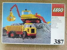 Caja Lego Maquinaria Construccion ref.387