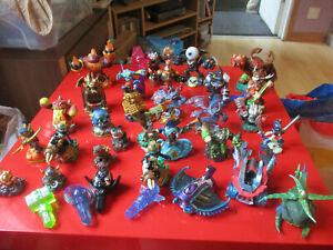Skylanders various figures and traps large bundle