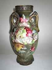 Antique Austrian Porcelain Vase Hand Painted