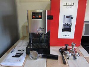 Gaggia Classic Espresso Machine Stainless Steel