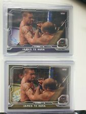 2014 Topps UFC Champions Gold James Te Huna LOT