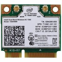 Intel Network 7260.HMWG.R Revised WiFi Wireless-AC Dual Band 2x2 AC+Bluetooth