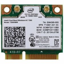 Intel Network 7260.HMWG.R Revised WiFi Wireless-AC Dual Band 2x2 AC+Bluetooth
