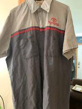 Vintage Large Toyota Mechanics Shirt Short Sleeve