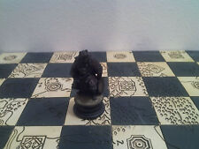 Il Signore Degli Anelli Scacchi Pedone Nero Orco Tamburo In Piombo