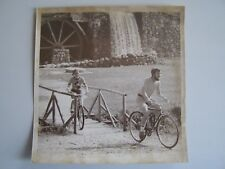 Vtg Wire Press Photo Sudbury MA 5/2/? Bill Edmunds & Carol Brunotte Grist Mill
