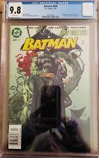 BATMAN #609 CGC 9.8, 2003 FIRST APPEARANCE OF THOMAS ELLIOT (HUSH), NEWSSTAND!