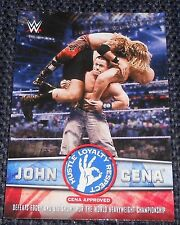 WWE 2017 - JOHN CENA TRIBUTE INSERT CARD #17