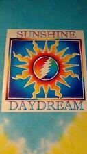 Grateful Dead Sunshine Daydream 5.25 x 5.5 Inch Sticker