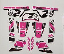 Stickers Rose Kit Deco Fille pour moto YAMAHA PW 50 PW50 Piwi Haute Qualité