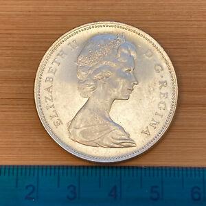 Canada Elizabeth II Dollar 1965 c23.32g (ref #17)