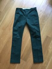J. Crew Men's Broken In Urban Slim Fit Green Pants Size: 30 x 34 Excellent