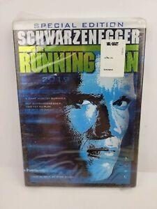 The Running Man DVD 1987 2-Disc Set Brand New Sealed RARE W/ Slipcover