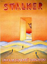 Stalker Andrei Tarkovski cult movie poster print #11