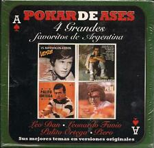 Favoritos De Argentina CD NEW 4 Discs Leo Dan I Palito Ortega I Piero I y MAS