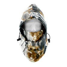 Camouflage Balaclava Chapeau Bonnet Chasse Ski Coiffure Cou Chauffe-Masque Visage Complet