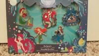 D23 2019 Expo Little Mermaid 30th Anniversary Princess Ariel Pin Set LE300